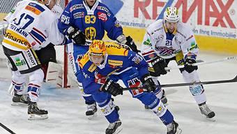 Der Davoser Marcus Paulsson auch gegen Biel wieder erfolgreich.