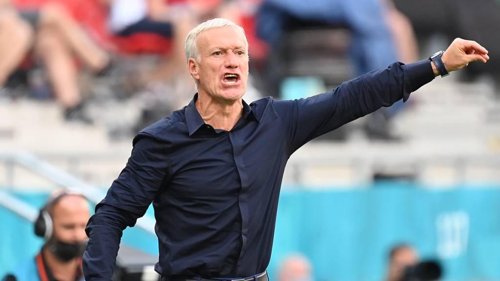 Didier Deschamps hat vor der Partie gegen die Schweiz einige knifflige Entscheide zu treffen