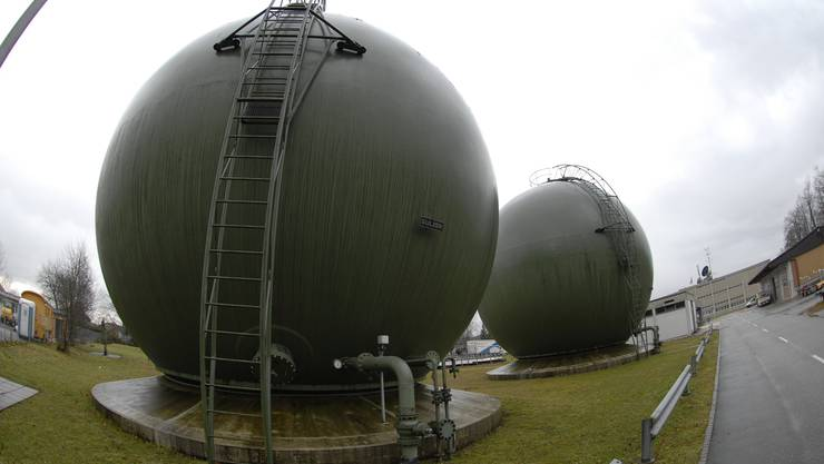 Werden bals Tanks mit heimischem Erdgas gefült?