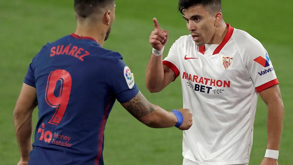 Atlético verliert in Sevilla - Meisterkampf spitzt sich zu