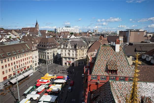 Der Marktplatz im 21. Jahrhundert.