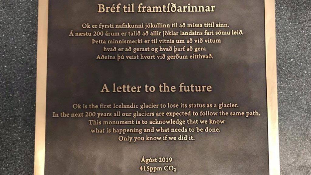 Island erklärt ersten Gletscher für «tot»