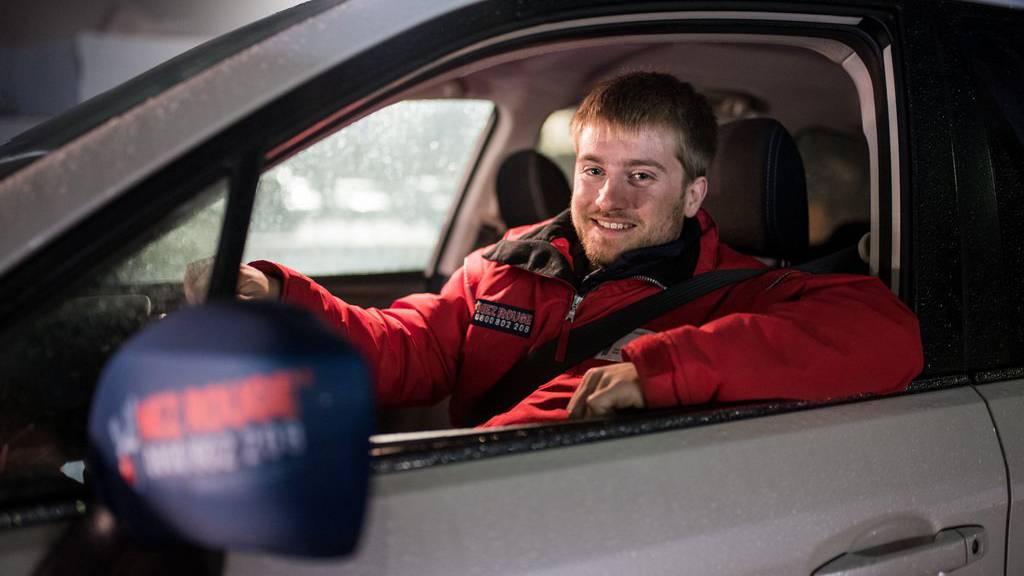 Nez Rouge fährt während der Weihnachtszeit Gäste und deren Auto nach Hause.