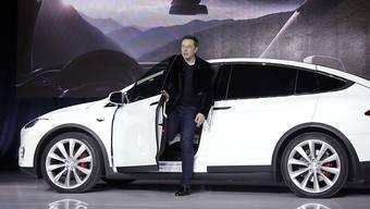 Tesla-Chef Elon Musk. (Archivbild)