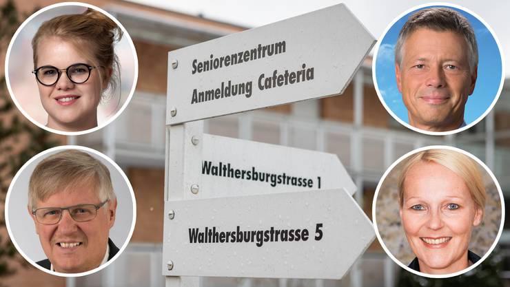 Sammelsurium an Vorwürfen: Christian Oehler (FDP), die beiden Sozialdemokratinnen Eva Schaffner und Leona Klopfenstein sowie Peter Roschi (CVP) haben eine drei Seiten lange Anfrage unterzeichnet.