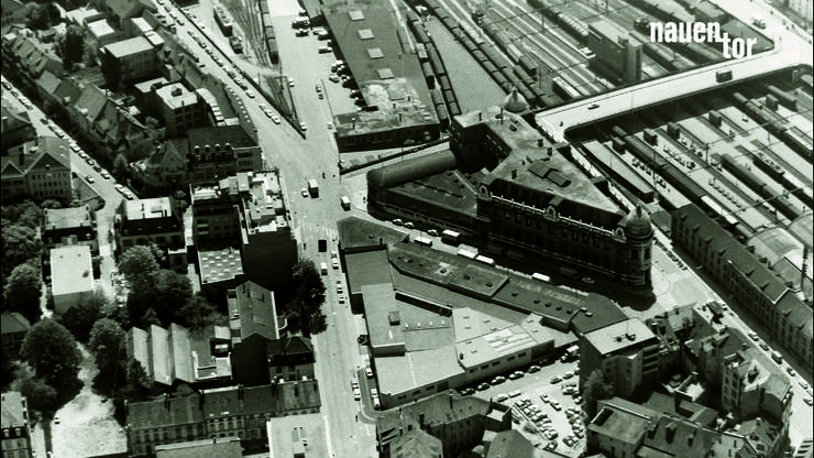 So sah das Post-Gebäude 1908 aus.