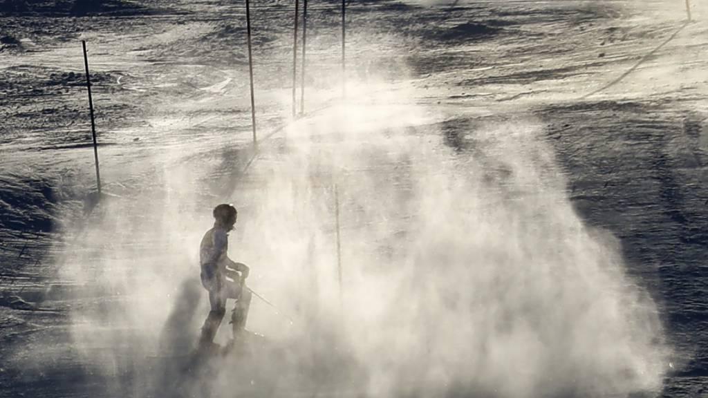 In Spanien wird mit einem Grossaufgebot nach der ehemaligen Top-Skifahrerin Blanca Fernandez Ochoa gesucht