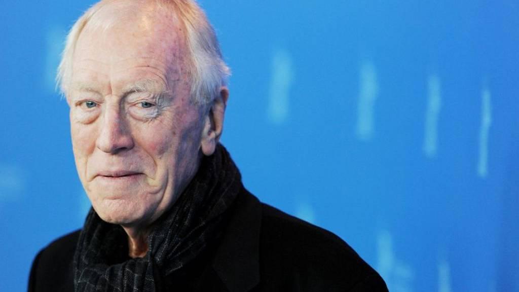 Der schwedische Schauspieler Max von Sydow ist am 8. März 2020 im Alter von 90 Jahren gestorben. (Archiv)