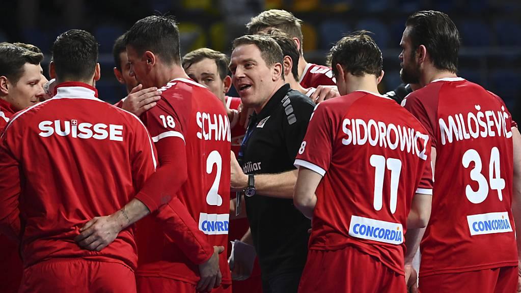 Schweizer Handball-Nationalmannschaft geht es gegen Dänemark und in Nordmazedonien um viel