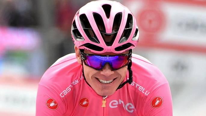Chris Froome wird zum ersten Mal in seiner Karriere den Giro d'Italia gewinnen.
