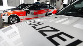 Im Kanton Solothurn sind parkierte Dienstfahrzeuge keine Strategie zur Abschreckung von Einbrechern. (Symbolbild)