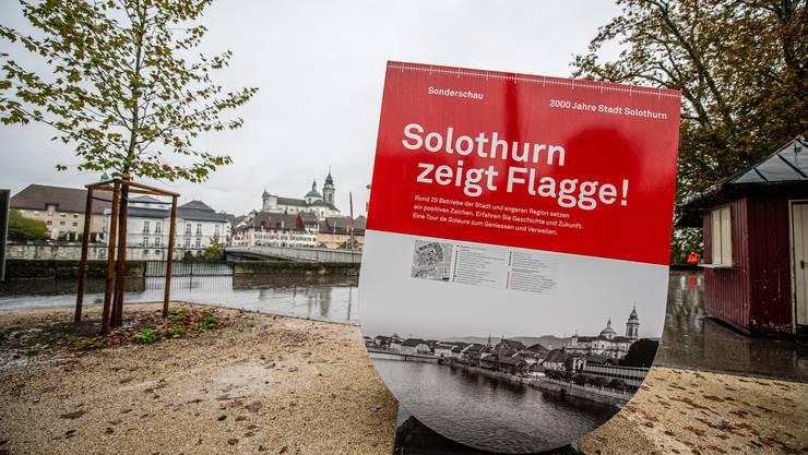 «Solothurn zeigt Flagge!», so das Motto der HESO-Sonderschau 2020.