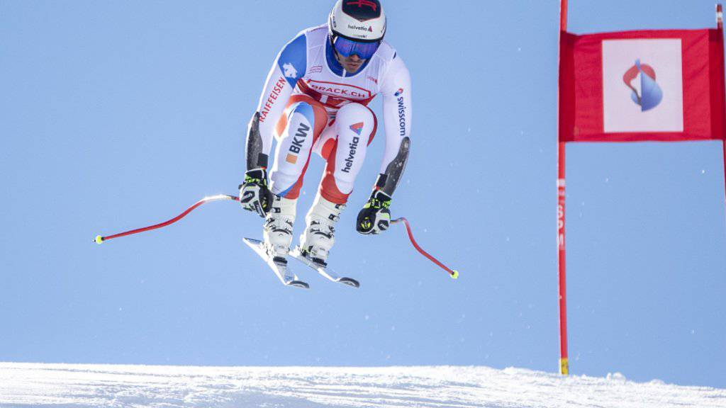 Gilles Roulin triumphiert im Super-G