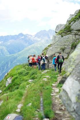 Abstieg nach Bellwald