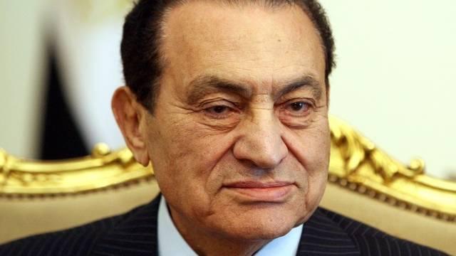 Ägyptens Ex-Präsident Husni Mubarak (Archiv)