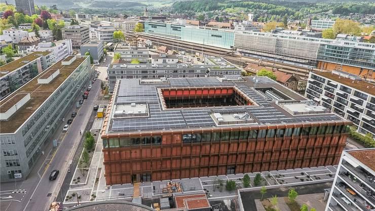 Wer sich den Swissgrid-Komplex von innen ansehen möchte, muss sich rasch anmelden.Sandra Ardizzone