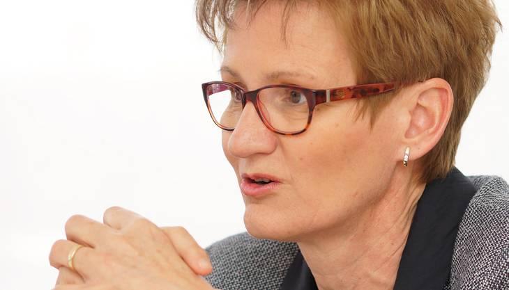 Sabine Pegoraro, FDP-Baudirektorin.