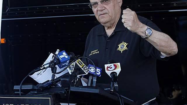 Sheriff Joe Arpaio gilt als harter Hund (Archiv)