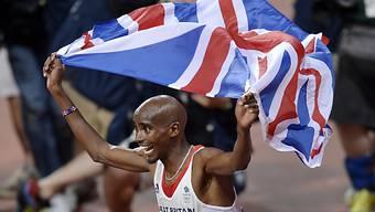 Mo Farah wurde zum Helden der Briten