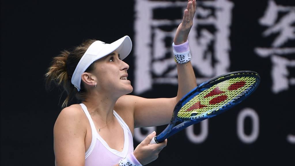 Aus für Belinda Bencic in der dritten Runde