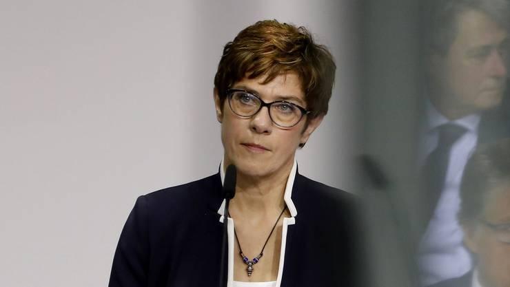 Unter Beschuss: CDU-Chefin Annegret Kramp-Karrenbauer.