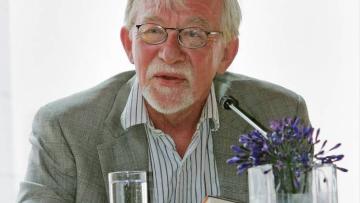 Lars Gustafsson am Literaturfestival Leukerbad im Jahr 2005 (Archiv)