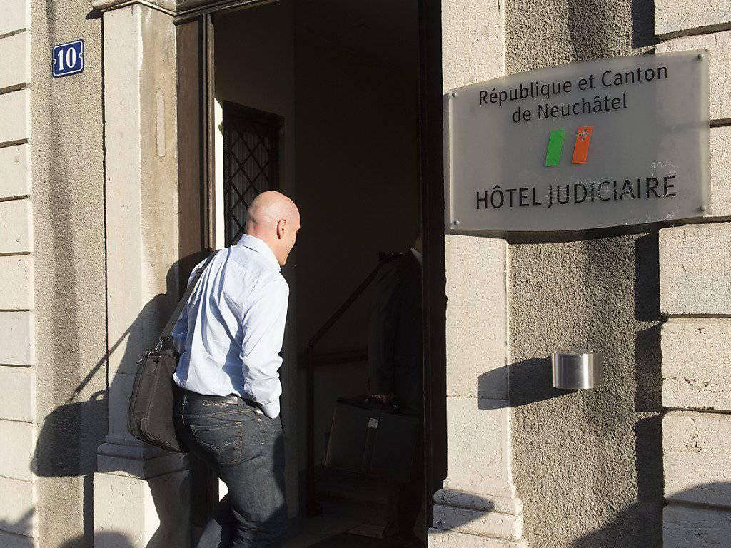 Wegen des Autounfalls musste sich Didier Cuche Ende August 2015 vor Gericht verantworten. (Archivbild)
