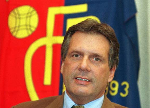 1996: René C. Jäggi stellt als Präsident einen Fünfjahresplan vor.