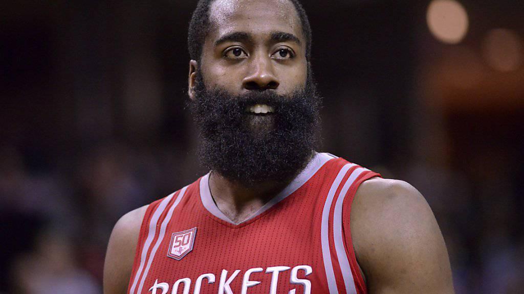 James Harden von den Houston Rockets ist derzeit kaum zu stoppen