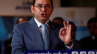 Nach dem Tod von Soldaten hat der Präsident von Guatemala, Jimmy Morales, den Ausnahmezustand in einigen Regionen verhängt und der Kongress stellte sich hinter die Massnahme.