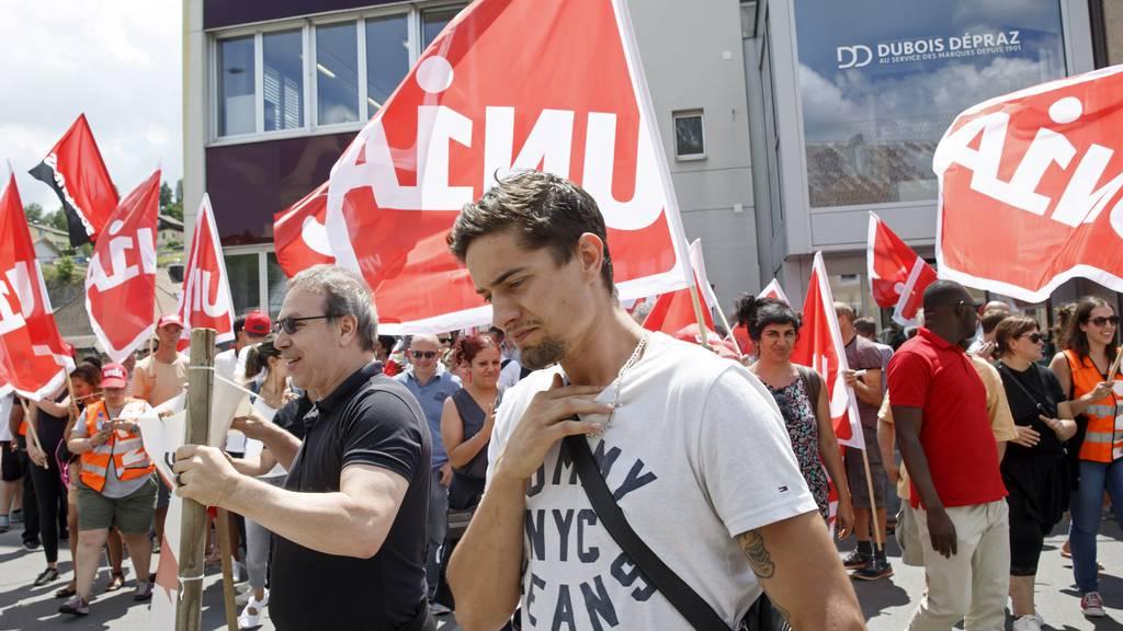 Unia-Delegierte unterstützen Klimastreikund fordern Umbau Gesellschaft
