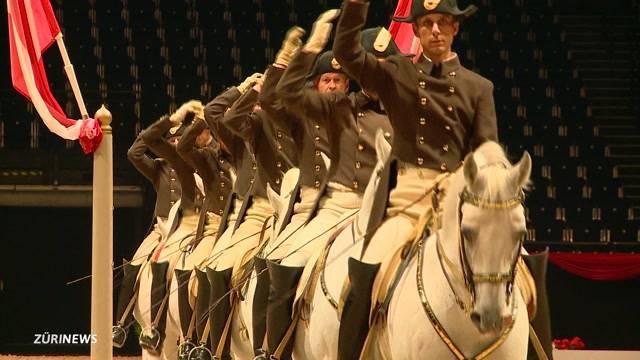 Pferde-Gala im Hallenstadion