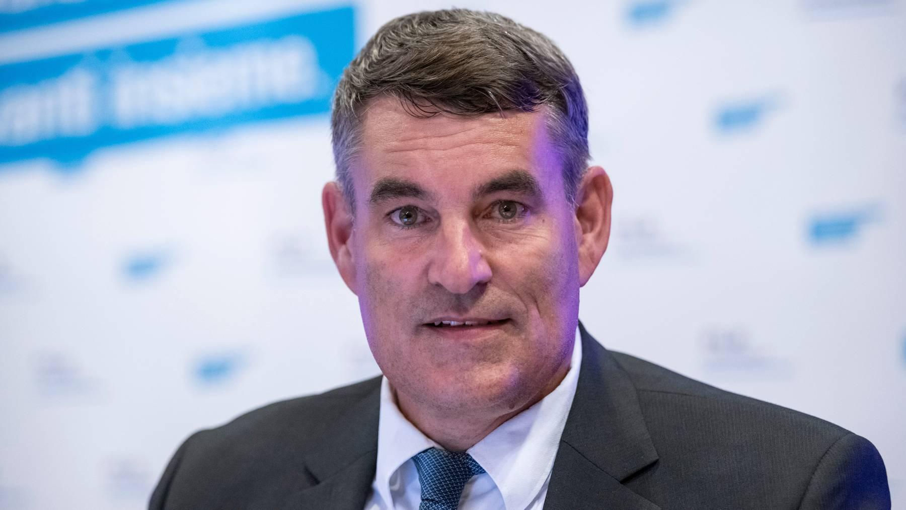 Muss sich von der Untersuchungskommission seines Kantons Schaffhausen einige Kritik anhören: Gesundheitsdirektor Christian Amsler.