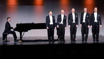 Die Berlin Comedian Harmonists boten beste Unterhaltung der Spitzenklasse mit Interpretationen ihrer berühmten Vorgänger aus den 1930er-Jahren.