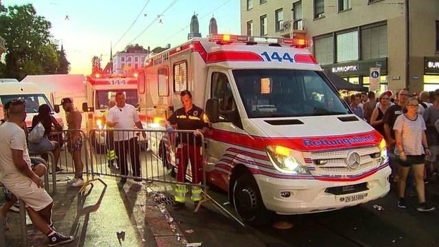 Unfall-Bilanz der Street Parade