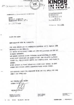 Über den Diplomaten-Club «CDI Club Diplomatique International» von «Dr. h. c.» Franz Winkovits (63) sollte die Aktion abgewickelt werden. Kurz darauf nimmt Heidrun Schmidt Einsitz im Club und bleibt dort bis 2001.