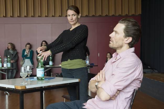 Improvisationstheater mit Alexandra Locher und Jacob Jensen