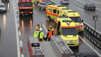 Auffahrkollision bei der Autobahnausfahrt Wangen an der Aare