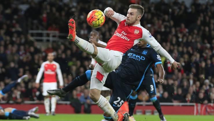 Arsenal und Aaron Ramsey boten gegen Manchester City einen starken Auftritt