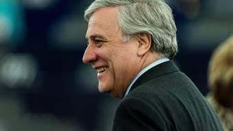 Antonio Tajani wurde in einer Stichwahl zum neuen EU-Parlamentspräsidenten gewählt.