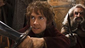 Martin Freeman (l.) und John Callen in einer Szene des Films
