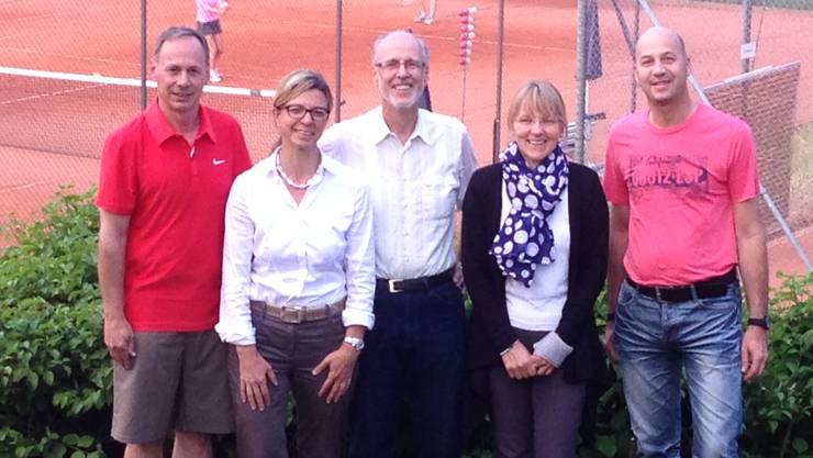 «Wir sind bereit!»: Das OK mit Guido Bleuel (von links), Friederike Tinkl, Felix Binder, Pia Müller und Matthias Renevey (es fehlen Mario Bernasconi, Pius Deiss und Ernst Ledermann).
