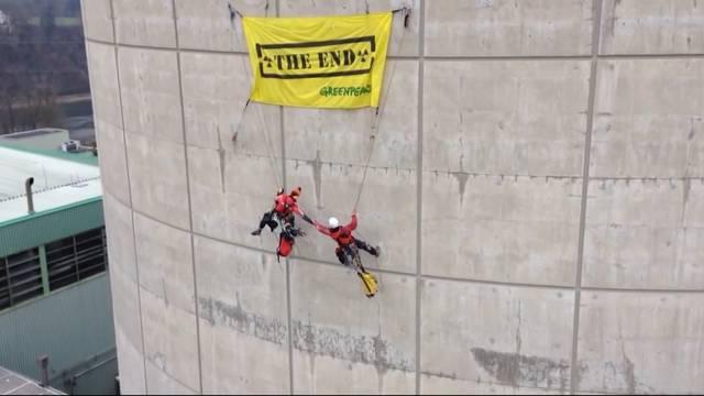 Greenpeace-Aktivisten vor Gericht