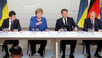 Die Gesprächspartner des Ukraine-Gipfels in Paris haben sich am späten Montagabend auf zahlreiche Massnahmen zur Entschärfung des Konfliktes mit Russland verständigt.