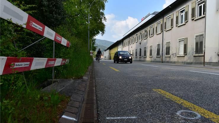 Baustelle Gösgerstrasse: Am Montag starten dort aufwendige Sanierungs- und Umgestaltungsarbeiten.