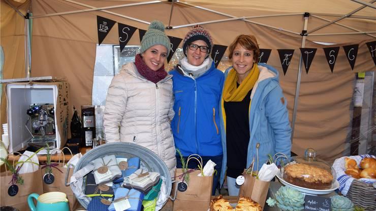 Die Initiantinnen (von links): Melanie Blättler, Martina Wächter und Maya Rey. Archiv