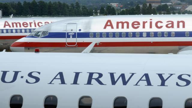 Wollen fusionieren: American Airlines und US Airways