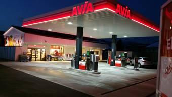 In diesem Tankstellenshop erbeutete der Räuber mehrere 100 Franken.