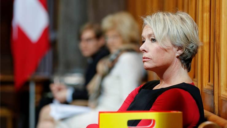 «Fusionsturbo» Schneider-Schneiter ist für viele Bürgerliche ein rotes Tuch.