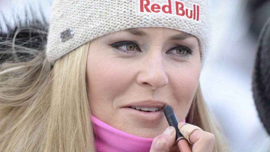 Lindsey Vonn verfolgt bis 2019 noch einige grosse Ziele